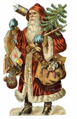 Found Art - Santa
