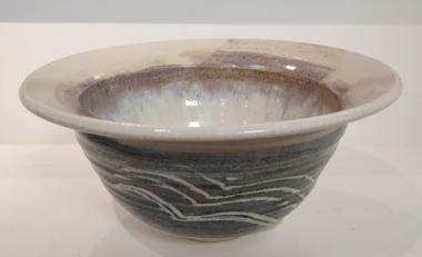 large white stoneware bowl