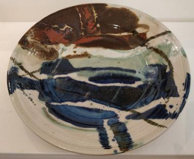 Abstract large Plate
