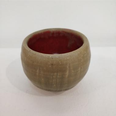 Small Ash glaze pot