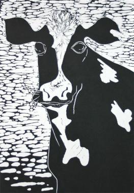 Landscove Cow