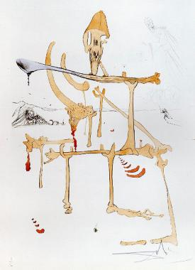 Landscape with Skeleton