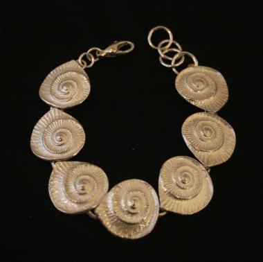 Ammonite Bracelet