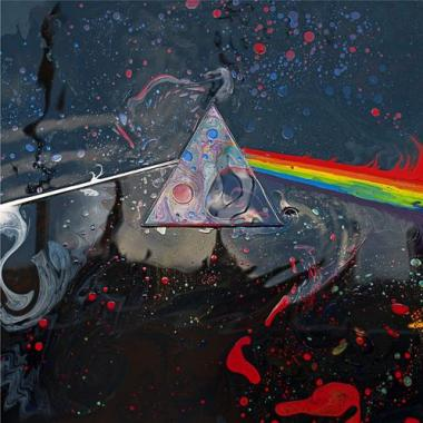 Liquid Dark Side of the Moon