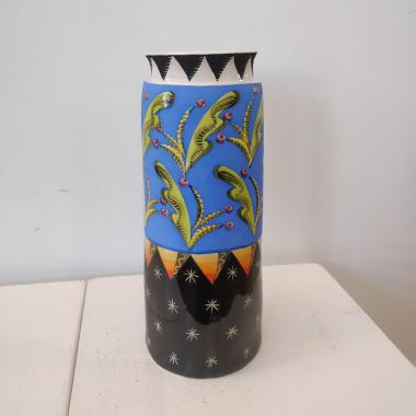Day and Night Tall Vase