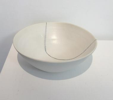 Large White Body Bowl