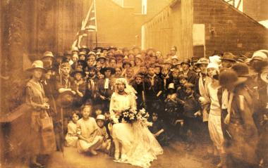 We Are the People No.12 The Bride Sheffield c.1922