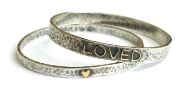 Loved Bangle Large (Please Check For Availability)