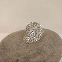 XL Eroded Oyster Ring  by Ann Bruford