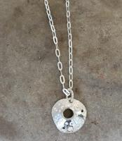 Open Limpet Pendant  by Ann Bruford