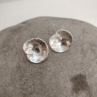 Small wave studs  by Ann Bruford