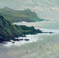 Silver Coastline at Hartland  by Alan  Cotton