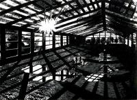 Derelict Warehouse, Olympic Site by Anne Desmet RA