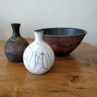 Copper Wash Bowl by Abi  Higgins