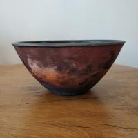 Copper Wash Bowl Large by Abi  Higgins
