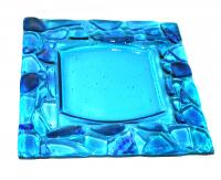 Large Square Plate by Anne Keyte