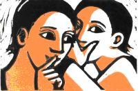 Whispering by Anita Klein