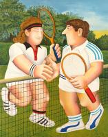 Tennis by Beryl Cook