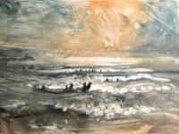 Into The Sea II, 2008 by Bill Jacklin RA