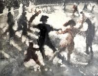 Close Encounter VI, 2007 by Bill Jacklin RA