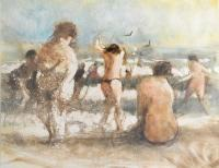 The Beach II, 2009 by Bill Jacklin RA