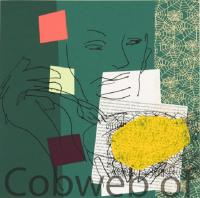 Cobweb Of Potato by Bruce McLean