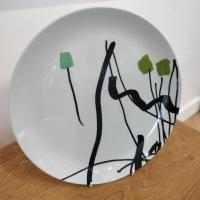 Garden Ware Plate 5 by Bruce McLean