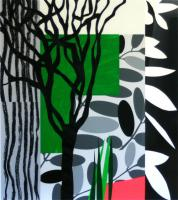 Black Mimosa by Bruce McLean
