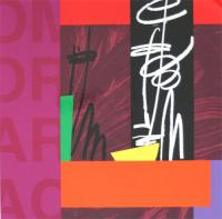 Room for a bar snack by Bruce McLean
