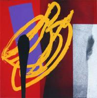 Hot Sex (Red) by Bruce McLean