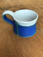 Small Round Coffee Mug by Bryony Rich