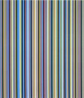 Edge of Light (sold) by Bridget Riley