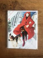 Lady of the Snows - Multipack of 15 Christmas cards by Canns Down Press