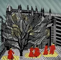 Mulberry Tree and Choristers by Cathy King