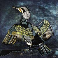Cormorant by Cathy King