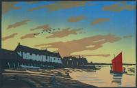 Burnham Overy Staithe by Colin Moore
