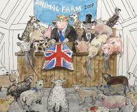Animal Farm  by Chris Orr MBE RA