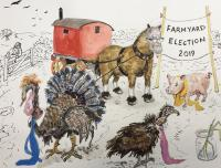 Farmyard Election 2019 by Chris Orr MBE RA