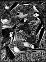 Walk of Wagtails by Colin See-Paynton