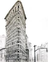 Flat Iron Building by Chris Orr MBE RA
