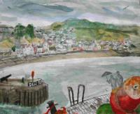 Dead Slow Lyme Regis by Chris Orr MBE RA