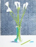Lillies (1971) by David Hockney