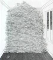 A Room full of Straw (1969) by David Hockney