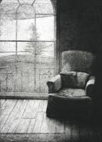 Window and Armchair by David Lintine