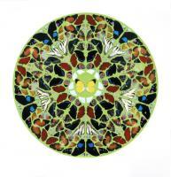 Psalm Print - Domini Est Terra (Diamond Dust) by Damien Hirst