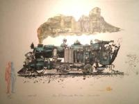 Men of Steam by Chris Orr MBE RA