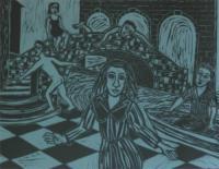 Little Dramas Scene I by Eileen Cooper RA