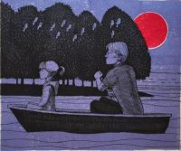 Canoe by Frans Wesselman RE