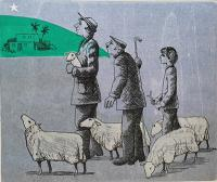 Shepherds by Frans Wesselman RE