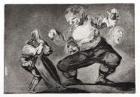Tras el Vicio Vene el Fomicio by Francisco de Goya